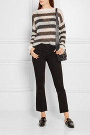 Karl Lagerfeld Striped knitted sweater
