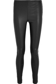 Karl Lagerfeld Stretch-leather leggings