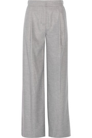 Karl Lagerfeld Flannel wide-leg pants