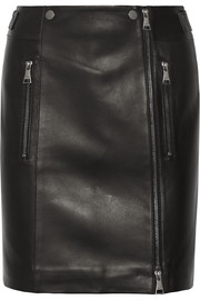 Karl Lagerfeld Leather mini skirt