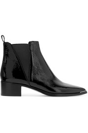 Acne Studios Jensen patent-leather ankle boots