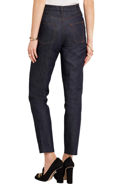 Victoire High-rise Slim-leg Jeans - Indigo Vanessa Seward 3CH48xv