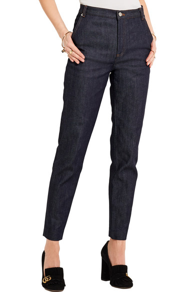 Victoire High-rise Slim-leg Jeans - Indigo Vanessa Seward Ebay Cheap Online For Sale The Cheapest Store Sale Online Discount Latest Collections zP6LU