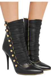Balmain Alienor leather ankle boots