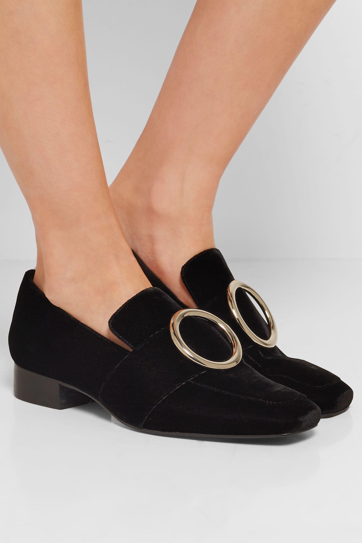 DORATEYMUR Harput velvet loafers