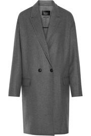 Isabel Marant Filipa oversized wool and cashmere-blend coat