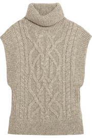 Isabel Marant Grant cable-knit alpaca-blend sweater