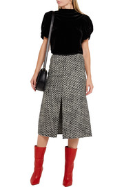 Inko tweed skirt