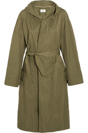 Daker shell trench coat