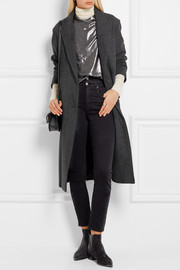 Étoile Isabel Marant Garth oversized tweed coat
