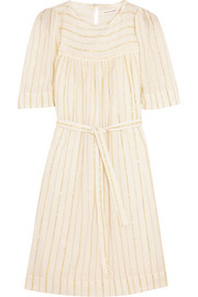 Étoile Isabel Marant Samoa striped cotton-blend mini dress