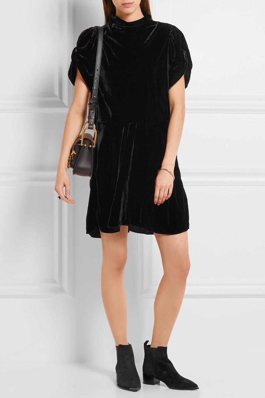 ÉTOILE ISABEL MARANT Dress Velvet Allinstyle