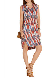 Étoile Isabel Marant Hollis printed crepe de chine dress