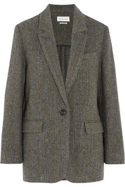 Halden herringbone wool-tweed blazer
