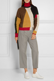 Étoile Isabel Marant Gao cable-knit and ribbed alpaca-blend sweater