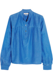 Étoile Isabel Marant Laper cotton and silk-blend blouse