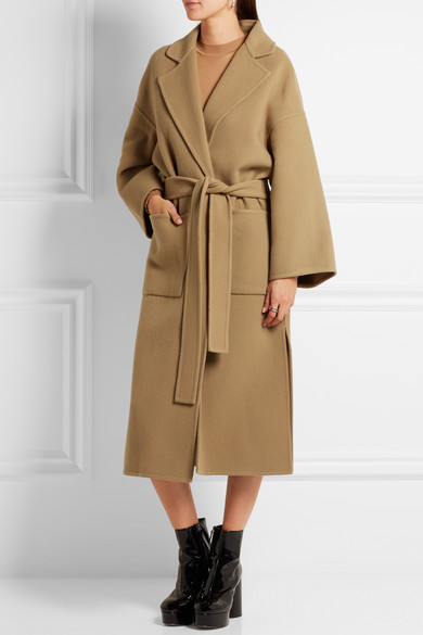 Loewe | Belted wool and cashmere-blend coat | NET-A-PORTER.COM