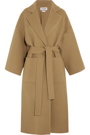 Loewe Belted wool and cashmere-blend coat
