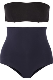 Eres + Véronique Leroy Mark convertible bandeau swimsuit