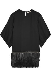 Antonio Berardi Embellished crepe top