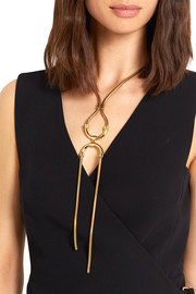 Alida gold-plated necklace