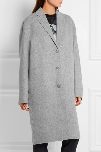 Acne Studios | Avalon Doublé oversized wool and cashmere-blend ...