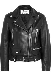 Acne Studios Leather biker jacket