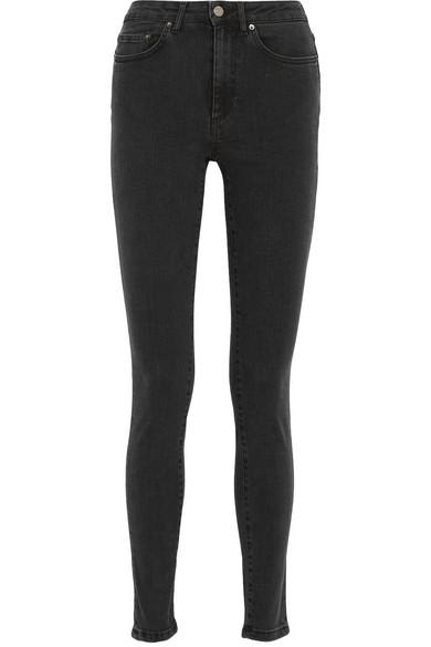 Acne Studios. Pin high-rise skinny jeans