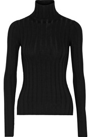 Acne Studios Corin ribbed merino wool-blend turtleneck sweater