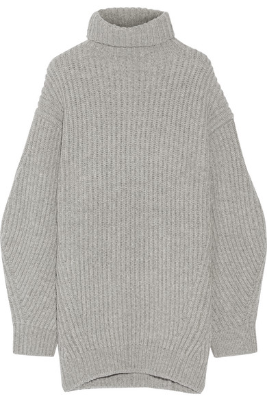 Porter Sweater com Ribbed Net Isa Turtleneck A Wool Studios Acne OUwTn8HqT