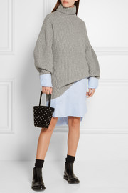 Acne Studios Isa ribbed wool turtleneck sweater