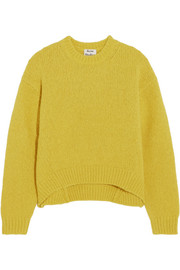 Acne Studios Shira oversized alpaca-blend sweater