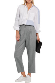Acne Studios Milli cropped wool-blend wide-leg pants
