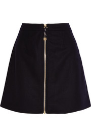 Acne Studios Prisca wool-blend twill mini skirt