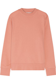 Acne Studios Carly loopback cotton-jersey sweatshirt