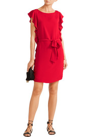 MICHAEL Michael Kors Ruffled crepe mini dress