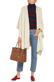 MICHAEL Michael Kors Merino wool and cashmere-blend poncho