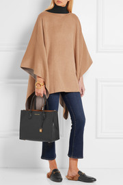 MICHAEL Michael Kors Double-faced felt poncho