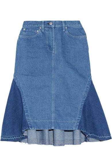 Sacai - Flared Denim Skirt - Mid denim