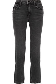 Alexander Wang Cult mid-rise straight-leg jeans