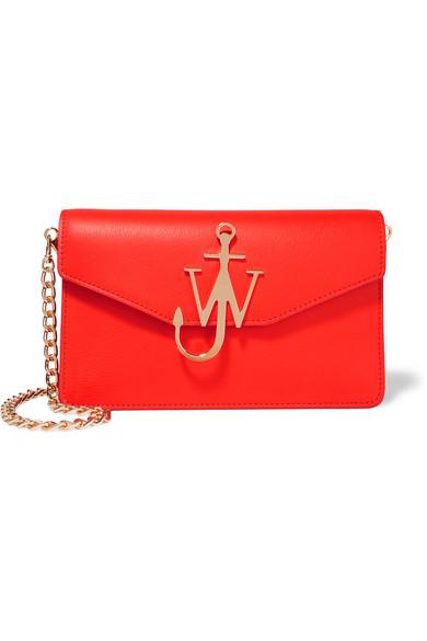J.W.Anderson - Leather Shoulder Bag - Red