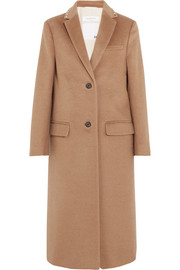 Valentino Stud-embellished camel hair coat
