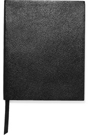 Smythson Portobello textured-leather notebook
