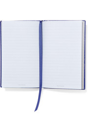 Panama Expect The Unexpected textured-leather notebook