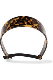 Headband in tortoiseshell resin