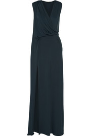 Cushnie et Ochs Draped stretch-jersey gown