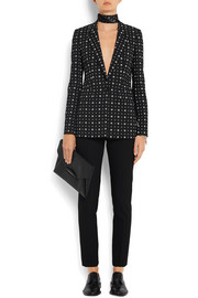 Givenchy Blazer in printed stretch-crepe
