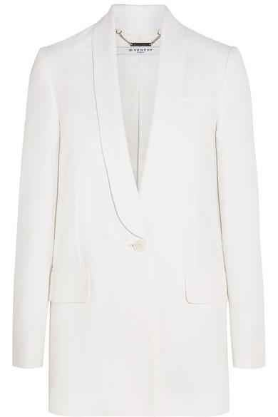 Givenchy White Blazer