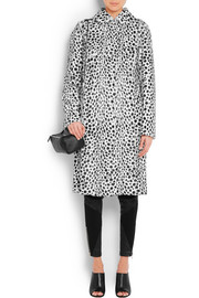 Givenchy Coat in dalmatian-print goat hair