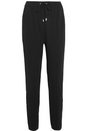 Givenchy Tapered pants in black stretch-crepe